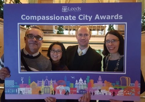 St Vincent's Support Centre in Leeds wins the first ever Jo Cox Compassionate City Award